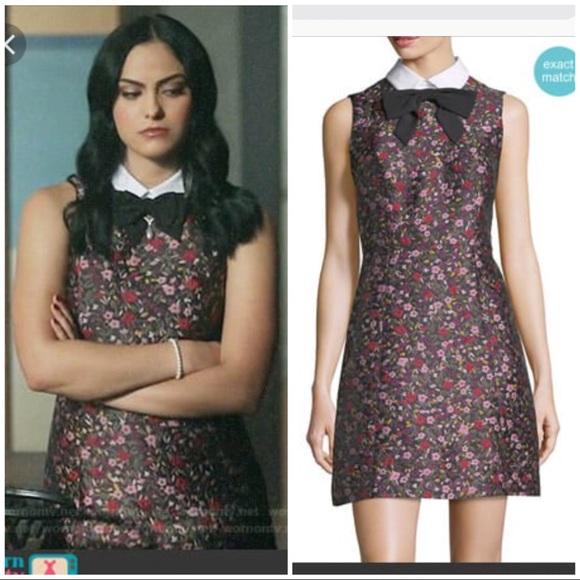 8dc71563b62 kate spade Dresses   Skirts - Kate Spade boho jacquard floral mini dress 4